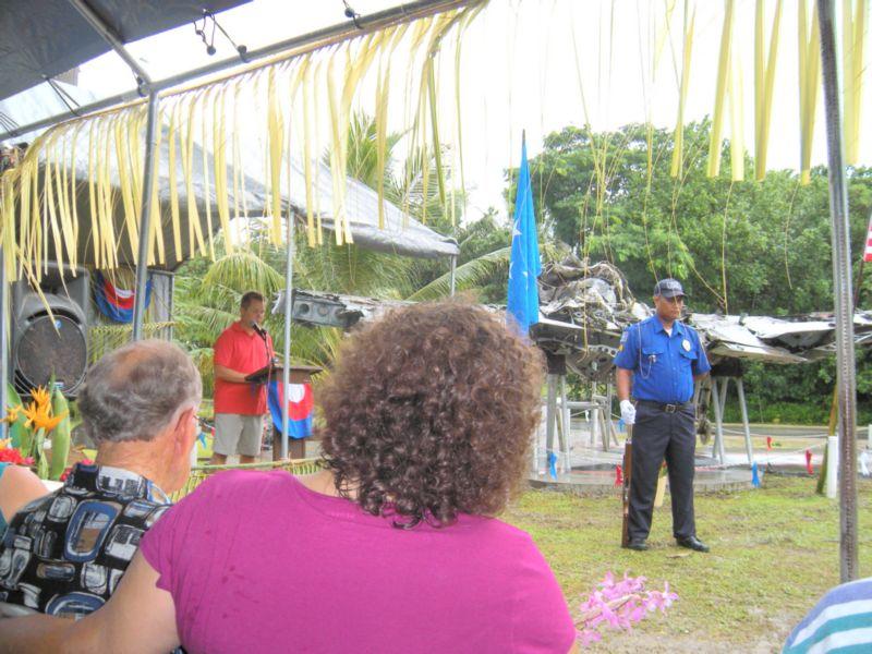 Pat Ranfranz speaking